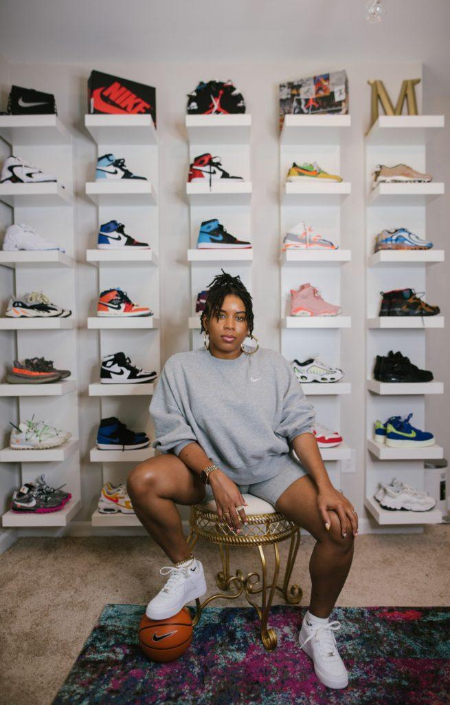 Sneaker Wall Featuring Ikea Lack